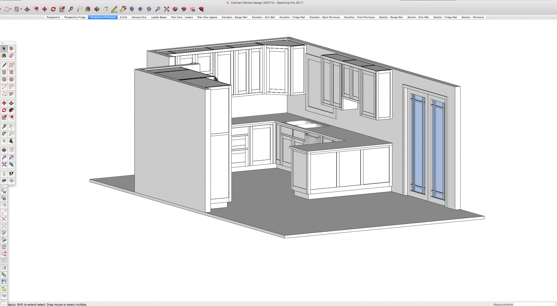 Drawing Kitchen Design Innovative Home Design