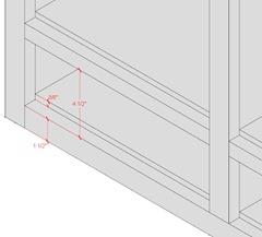 Upper Divider Drawer Opening Details