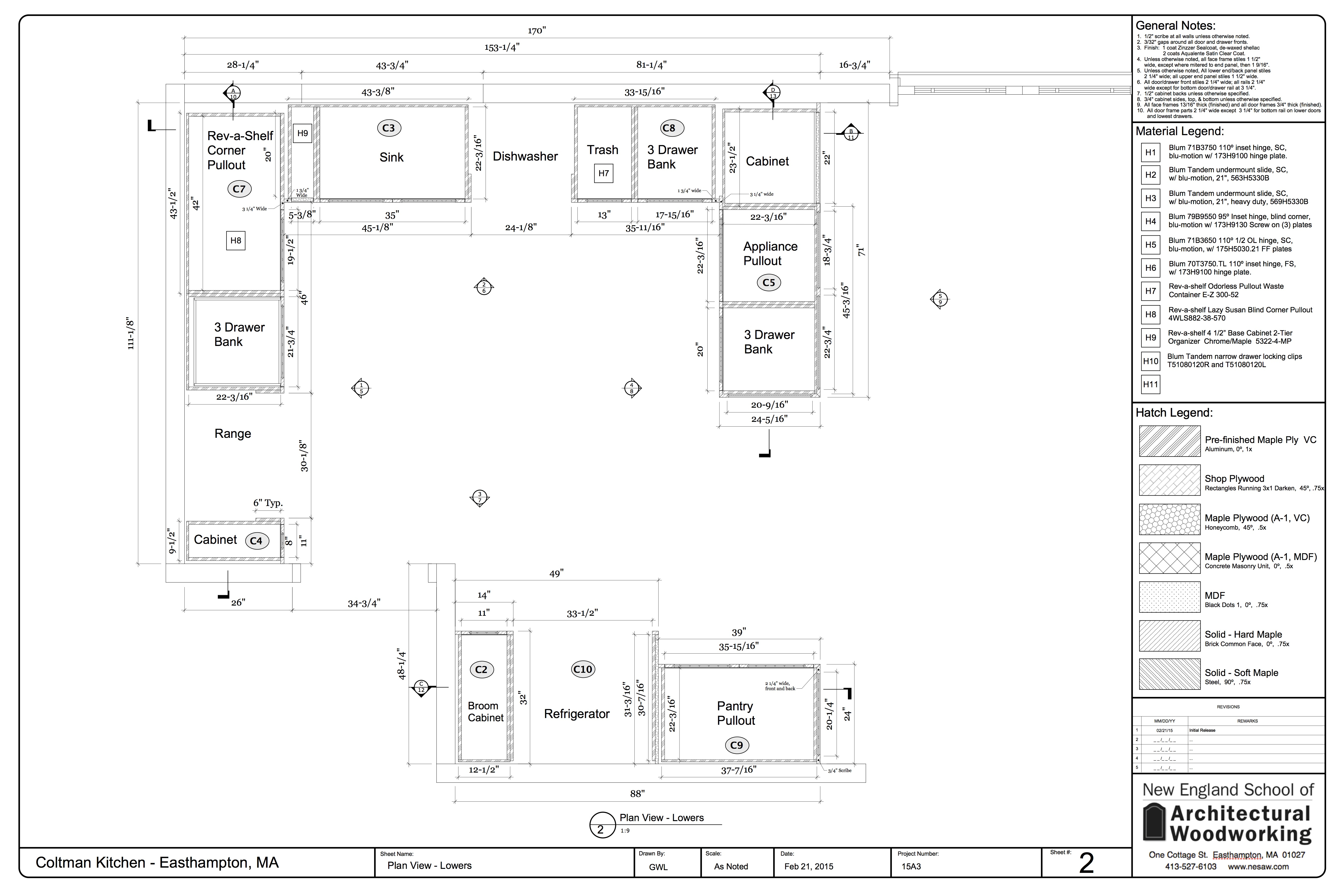 Shop drawing gallery for Shop construction plans
