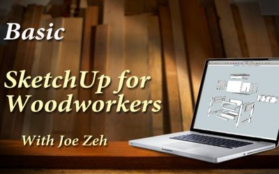 Basic SketchUp Comprehensive for Woodworkers