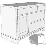The Base Cabinet From Part 1