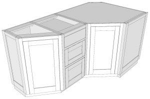 Diagonal End Box with 13